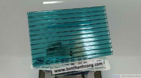 Solarlite Green ST (Xanh Lá) - Tấm Polycarbonate Rỗng Ruột HCM #polycarbonate #solarlite #green