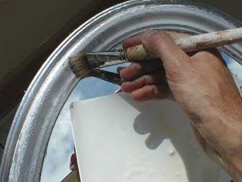 Gilding - How to antique Silver leaf