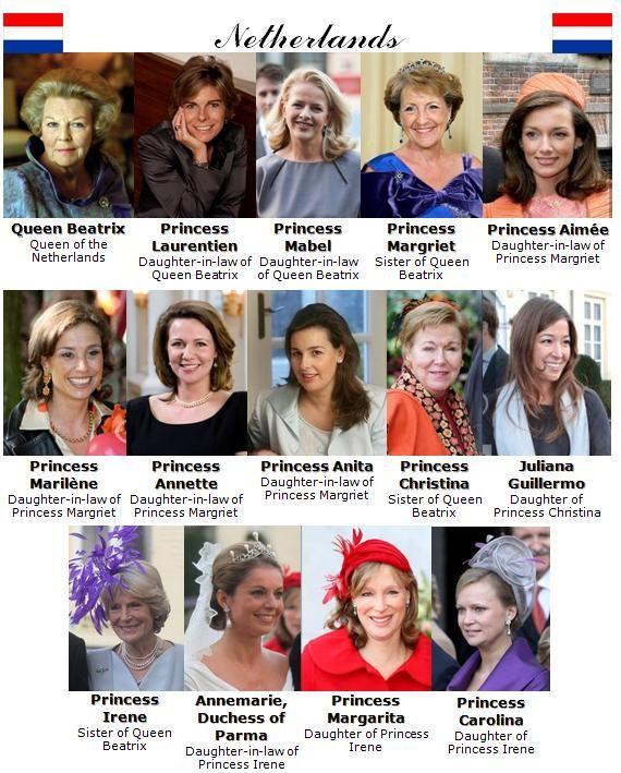 The Royal Order of Sartorial Splendor: Meet the Royals