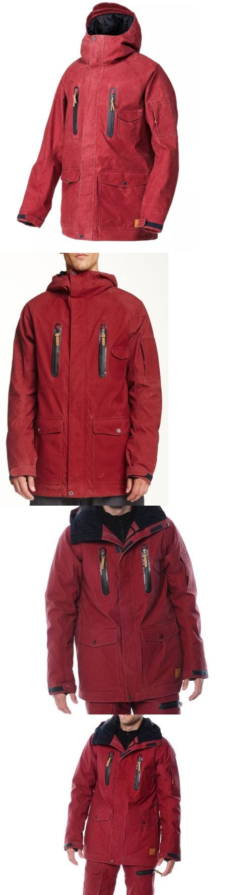 Coats and Jackets 26346: $249 Quiksilver Mens Snow Jacket 15K Waterproof Insulation Snowboard Size Xl -> BUY IT NOW ONLY: $99.99 on eBay!