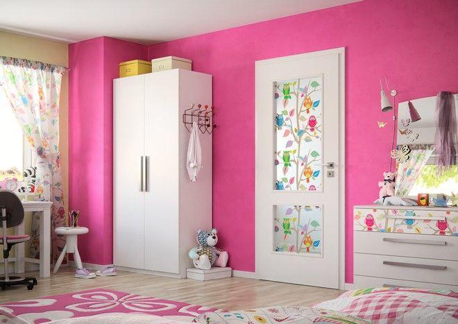 Dveře Sapeli SWING s folií do dětského pokoje