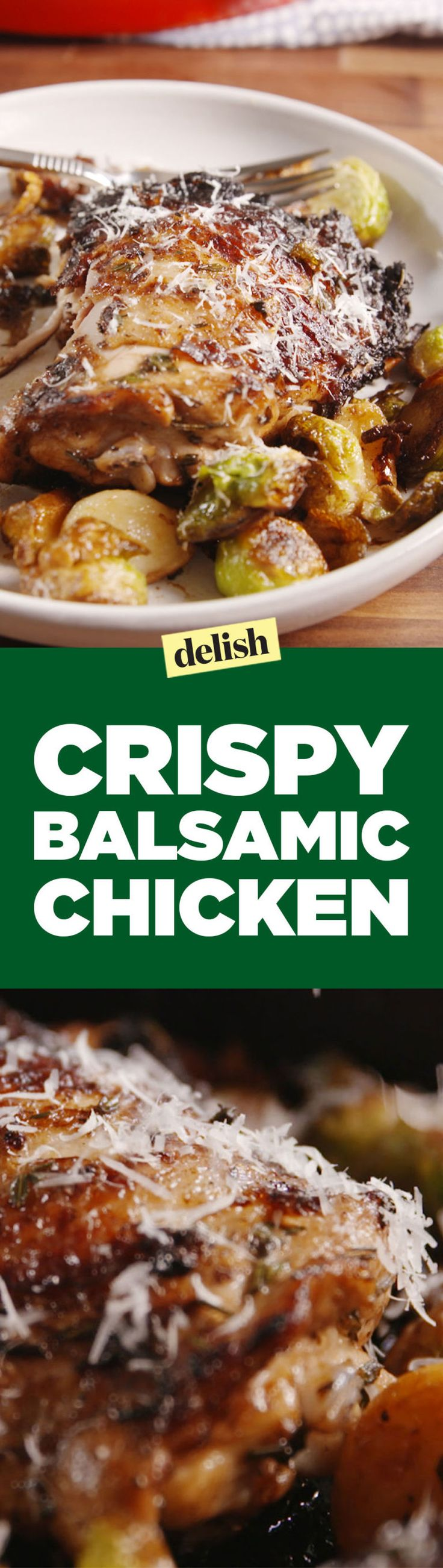 Best 25 balsamic chicken recipes ideas on pinterest balsamic crispy balsamic chicken forumfinder Image collections