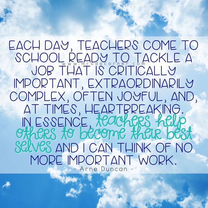 Inspirational Quotes For Elementary School: Best 25+ Quotes For Teachers Ideas On Pinterest