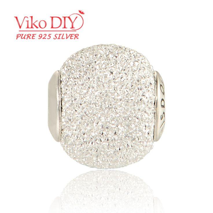 "Fit Essence Bracelet Diy Best Sale Silver ""Wisdom"" Charm Estilo Encantos Plata Esterlina Cristal Diy Viko Jewelry ST106"