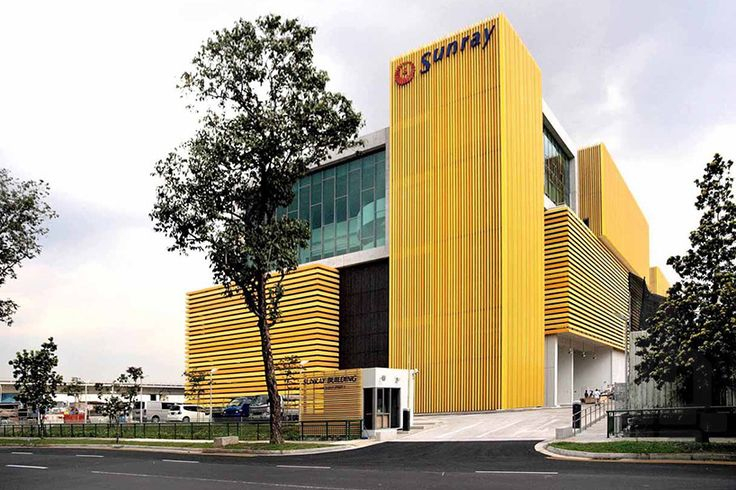 sunray woodcraft construction headquarters in singapore by DP architects