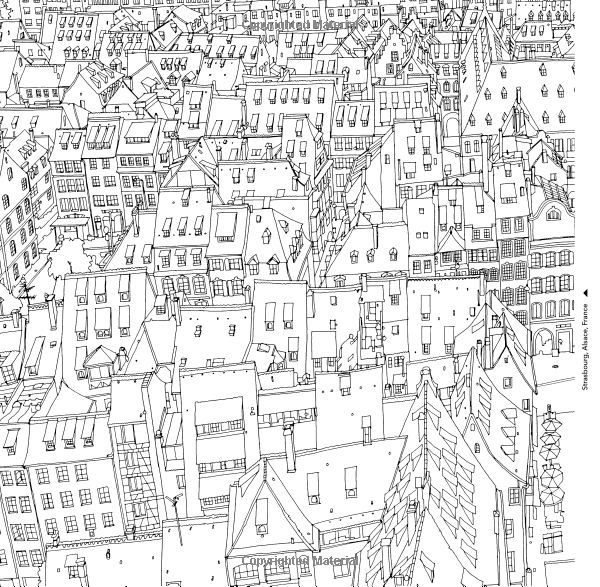 Fantastic Cities A Coloring Book Of Amazing Places Real And Imagined Steve