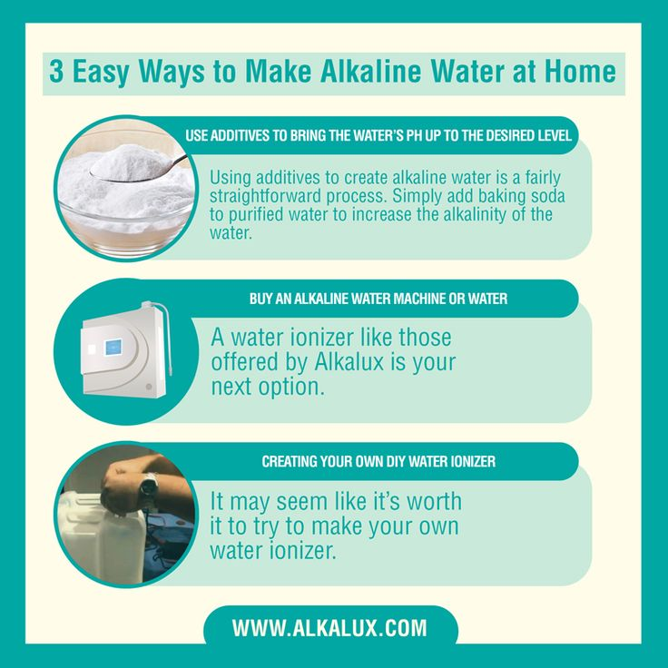 3 Easy Ways to Make Alkaline Water at Home | For more info about Alkaline Water: http://www.alkalux.com/knowledge-base/about-alkaline-water.html