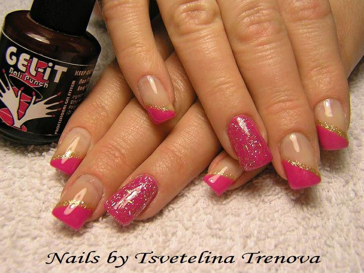 Nails by Tsvetelina Trenova with GEL-iT UV LED Soak off Gel Polish