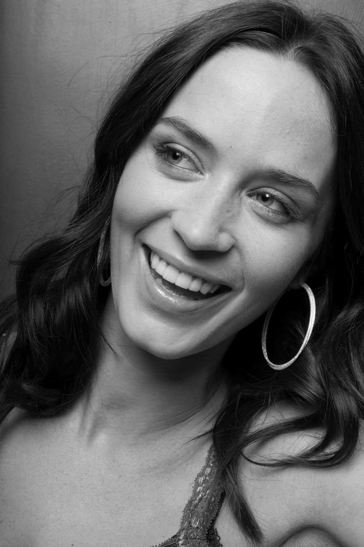 Emily Blunt: probably my favourite woman ever she's such a good actress and she's funny as anything