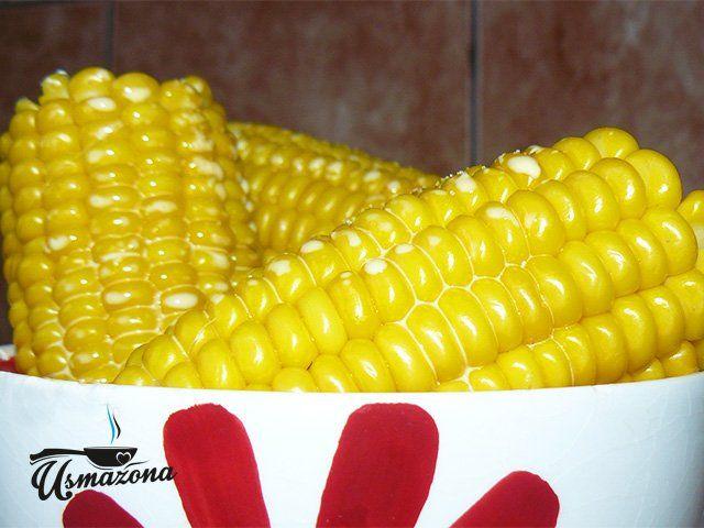 Kukurydza z parowaru