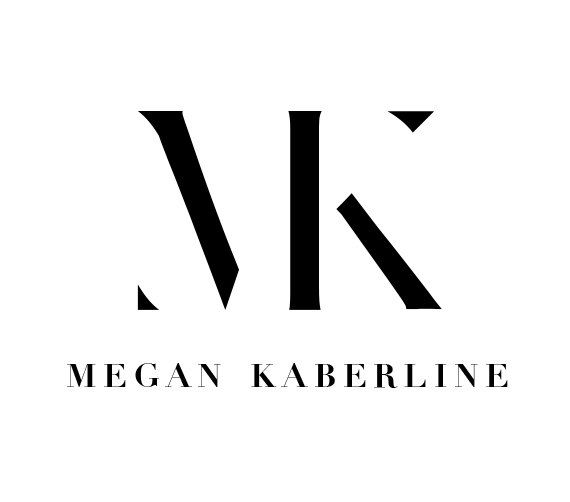 M + K Modern Monogram Fashion Logo
