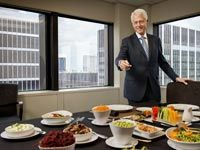 "Bill Clinton Reveals How He Became a Vegan - AARP.  He no longer craves steaks, but bread is a potential pitfall. ""Heavily processed carbs, you really have to control that,"" he says. When Caldwell Esselstyn spotted a picture of him on the Internet, eating a dinner roll at a banquet, the renowned doctor dispatched a sharply worded email message: ""I'll remind you one more time, I've treated a lot of vegans for heart disease."""
