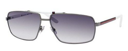 Gafas de sol Gucci Rectángulares, Marco de Rutenio / Lentes Gris 2202/S  | Antes: $853,000.00, HOY: $515,000.00