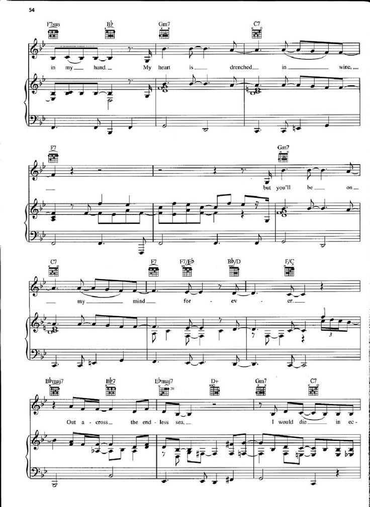 All Music Chords don t know why norah jones sheet music : Don't Know Why (Norah Jones) - Piano Sheet Music pg.54 | Music ...