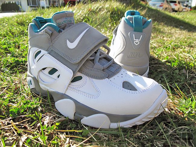 """""""Freshwater"""" Deion's: Shoes, Air Diamonds, Turf Fresh, Diamonds Turf, Freshwater, Nike Diamonds, Nikes, Nike Air"""