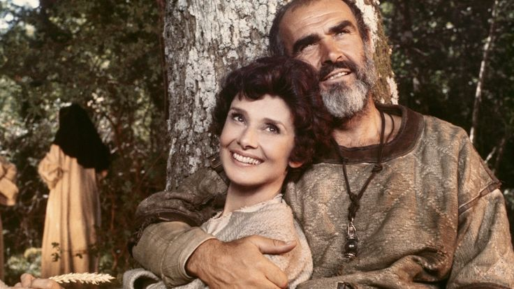 Sean Connery and Audrey Hepburn in Robin And Marian (1976) – The Chafe