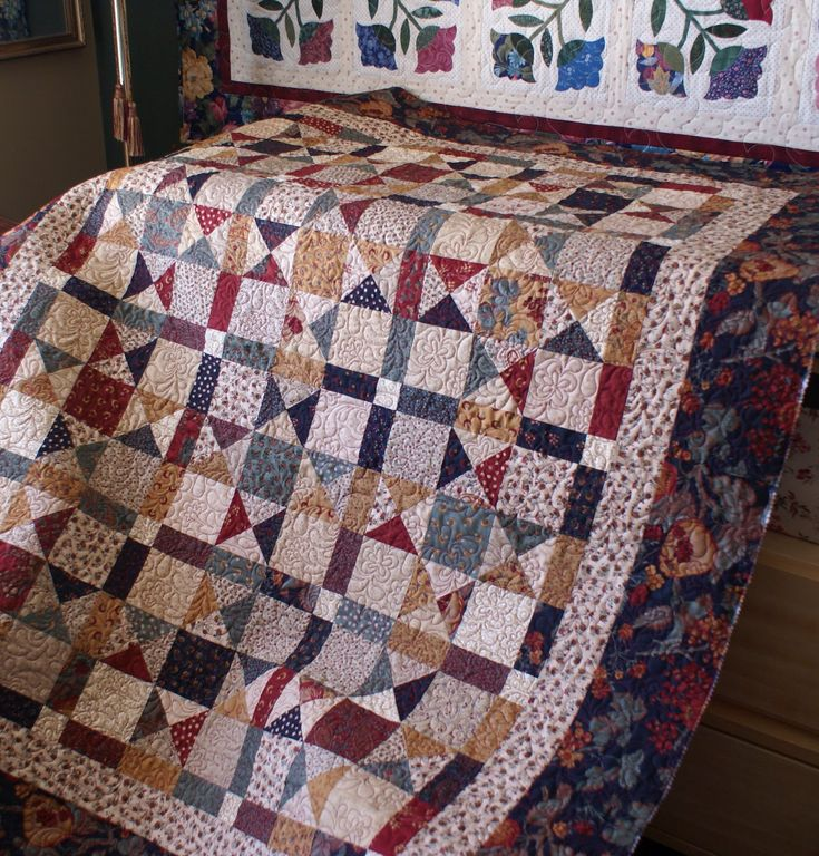 The Saturday Quilter: Another Quilting Finish