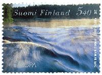 Water, Our Natural Resource. Finnish Stamp 2001