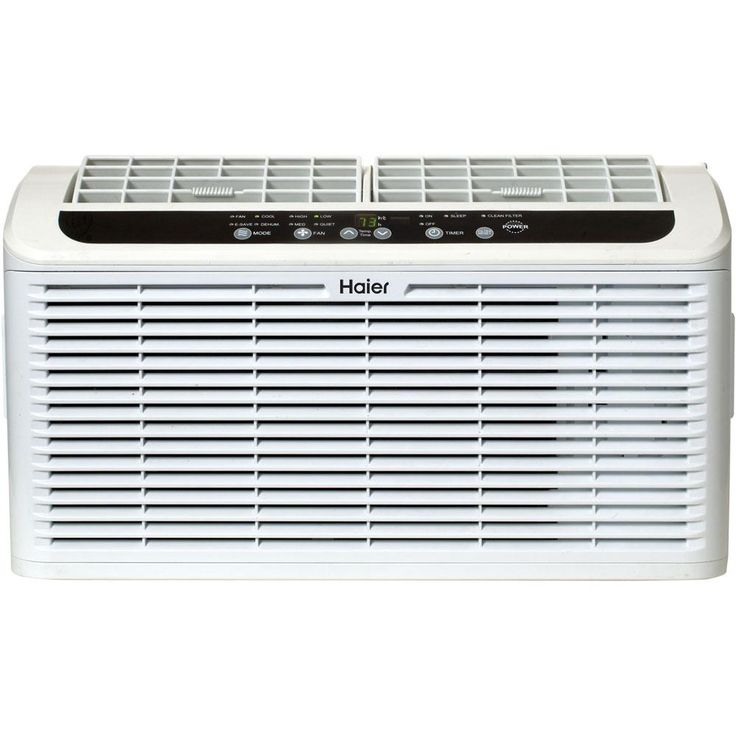 Haier 6000 BTU Energy Star Window Air Conditioner, White