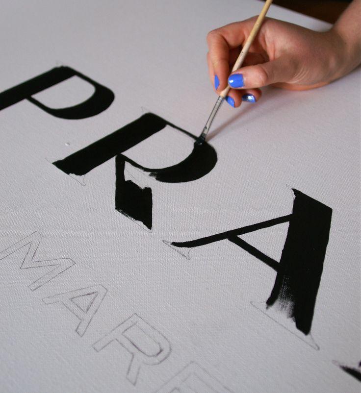 prada marfa logo tumblr - Google Search                                                                                                                                                      More