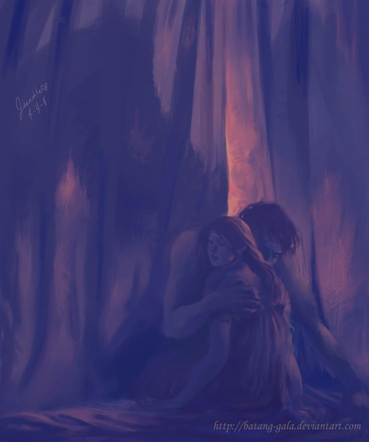 Eros and Psyche by batang-gala.deviantart.com on @deviantART