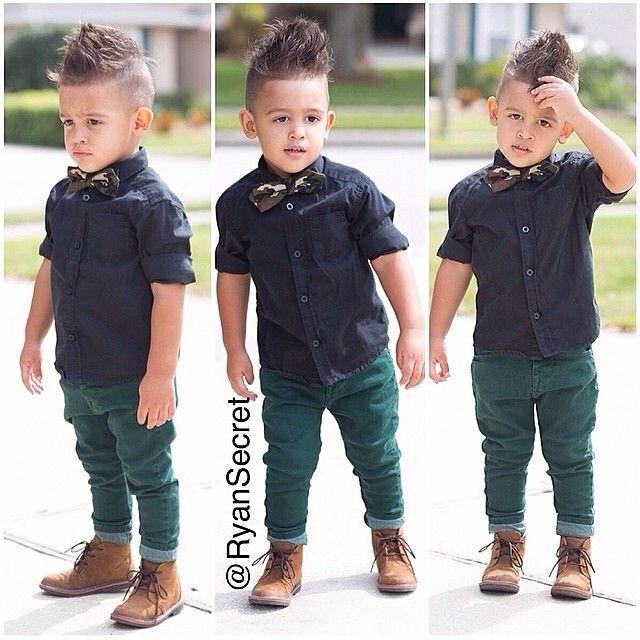 Meninos Estilosos Moda Infantil Masculina #boys Fashionistas do Instagram -  @ryansecret