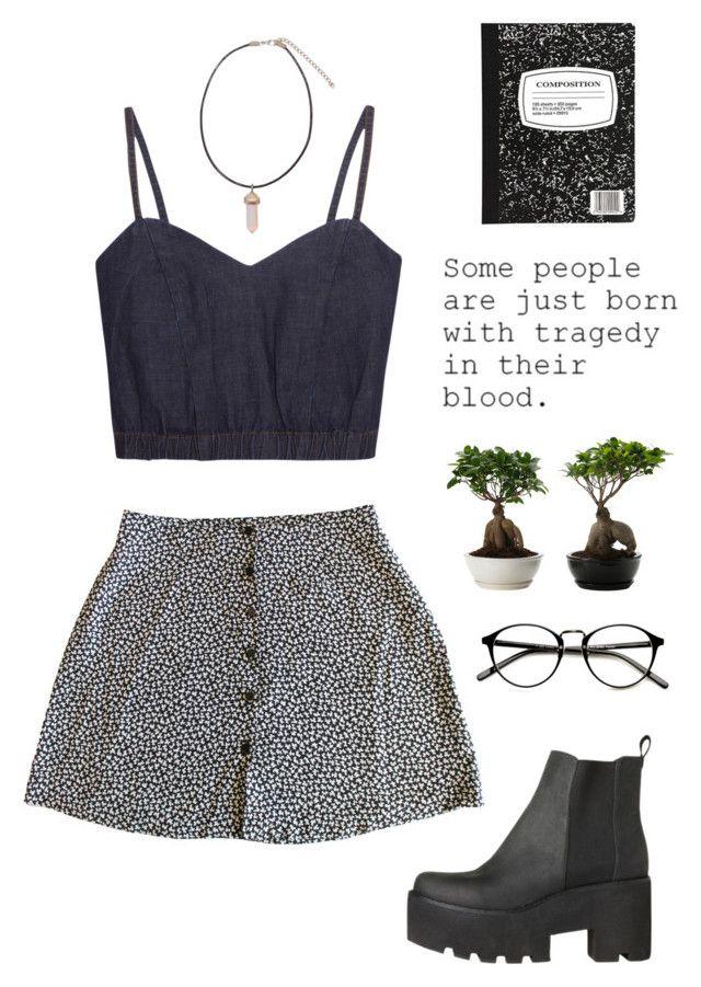 para el verano: una camisa oscura y corto, una falda blanca y negra, las botas negras, las gafas. cuestan: $55/48,81€
