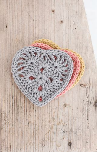 Ravelry: Heart Motifs pattern by Emma Escott