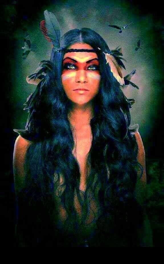 Am rindiens sur pinterest histoire des indiens d 39 am rique indiens d 39 am rique et tribus - Maquillage indienne d amerique ...