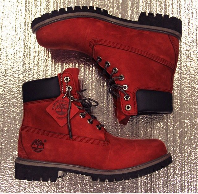 Timberlands❤️ perf wine color