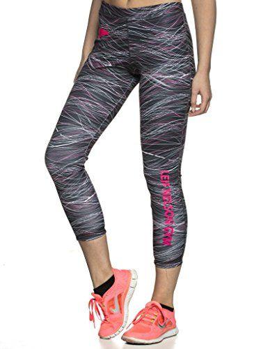 ca67a32de15dcd LEIF NELSON Gym Damen Fitness Hose Leggings Trainingshose Fitnesshose  Laufhose Jogginghose LN6313; Größe S Schwarz