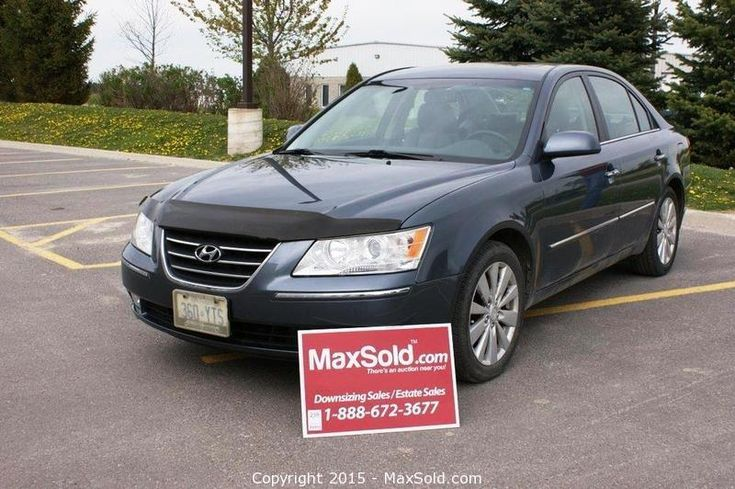 MaxSold - Auction: Kingston (Ontario, Canada) May Downsizing Online Auction - Discovery Ave ITEM: 2009 Hyundai Sonata Limited, Safetied and e-Tested 64,080 km sold for $7,100
