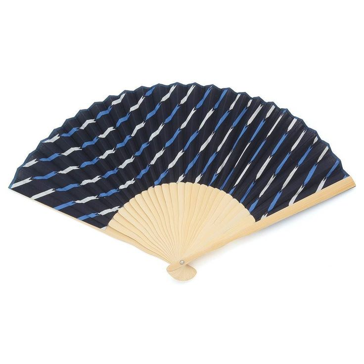 New item now in stores! A handy fan to keep you cool and refreshed. Made from bamboo and cotton various colors available.