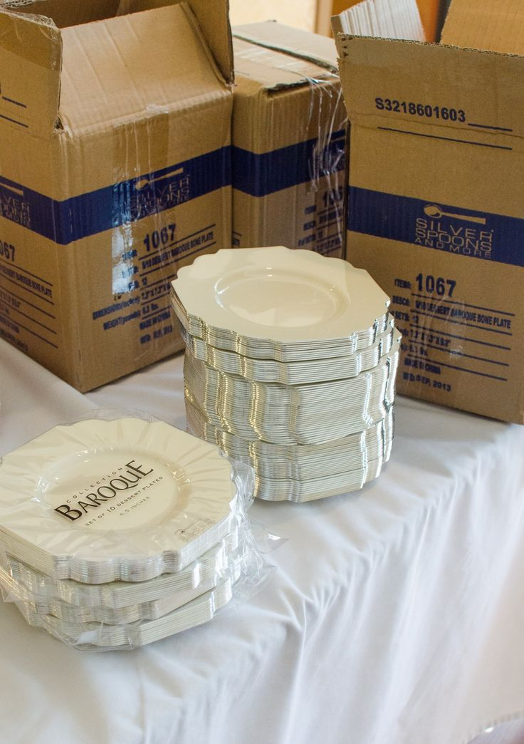 disposable dinnerware for weddings. 5 shopping tips for diy wedding receptions and other big parties \u2014 gatherings from the disposable dinnerware weddings i