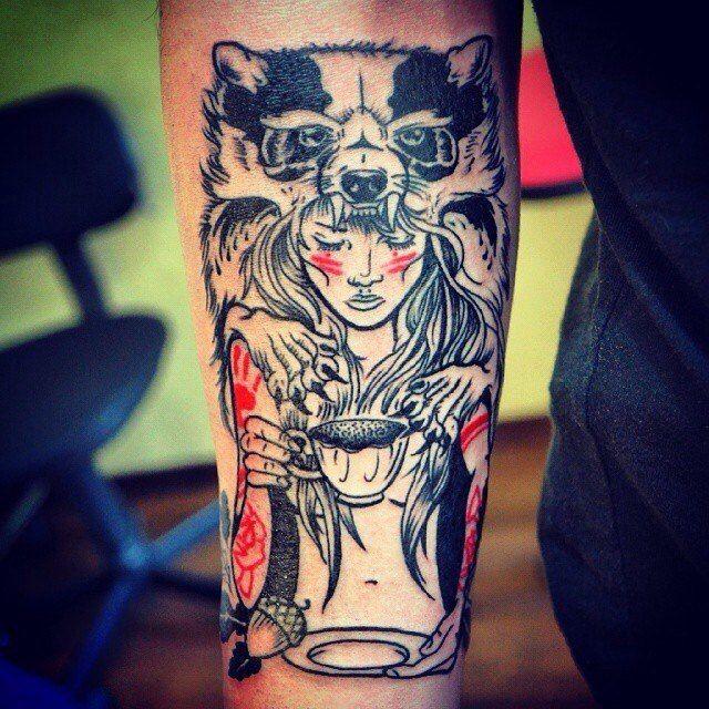 татуировки на плече картинки