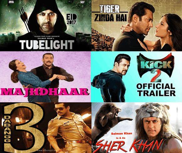 Salman Khan News: 8 Upcoming Movies