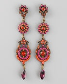 Aldazabal 3 drop earrings - Niemen Marcus