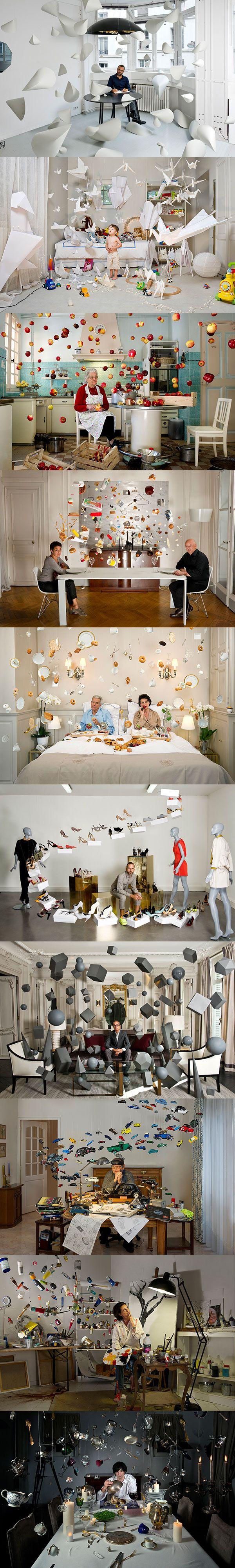"""Les excellentes photos """"volantes"""" de Cerise Doucede qui est basé à Aix en provence."""