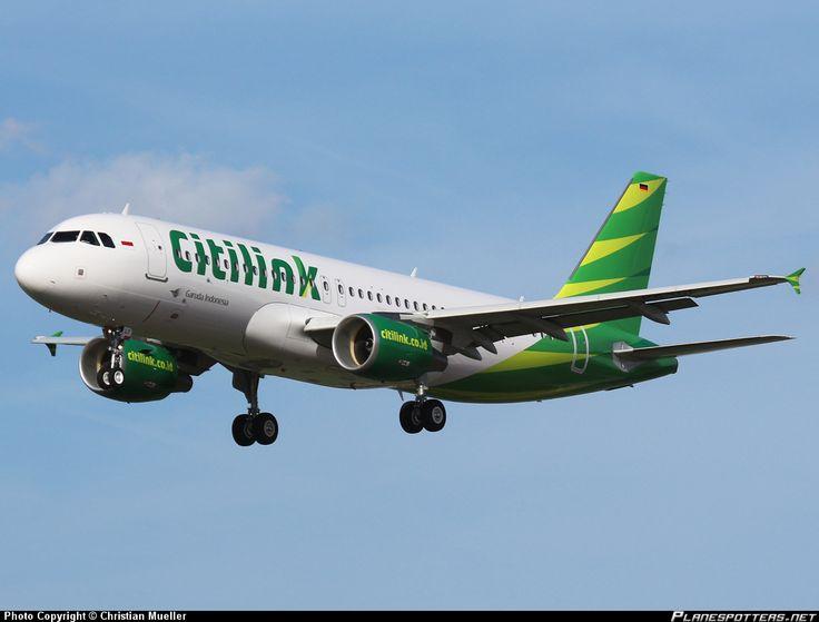 D-AUBA Citilink Garuda Indonesia Airbus A320-214