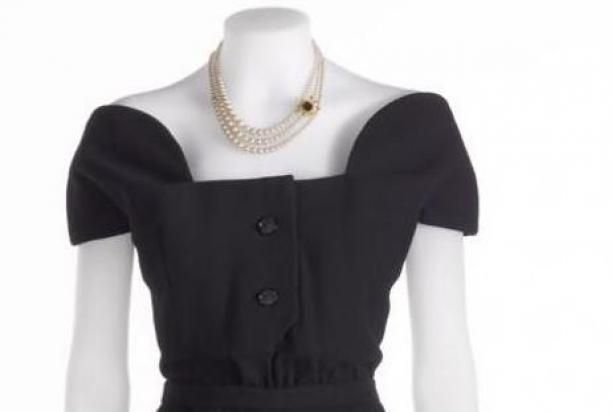 Christian Diors 'Ligne Tulipe' jurk | Modemuze