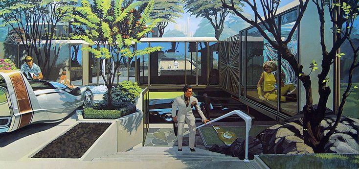 Retro Future City | Interface - a portfolio of probabilities, 1969 - Residential City ...