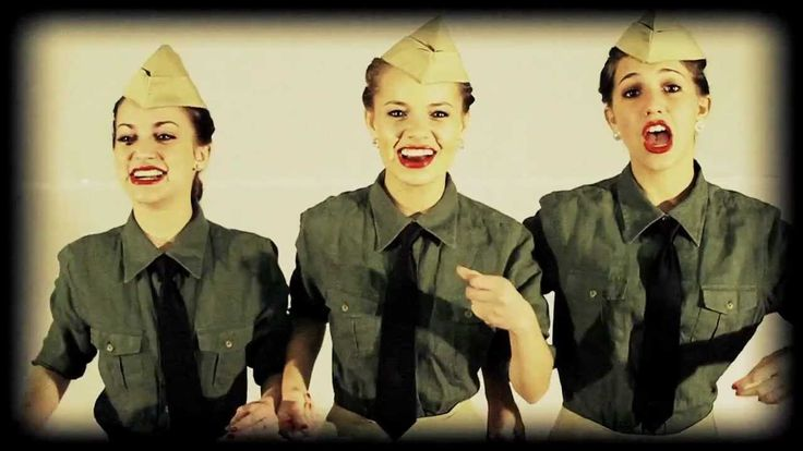 The Andrews Sisters - Boogie Woogie Bugle Boy of Company B - Cover by Th...