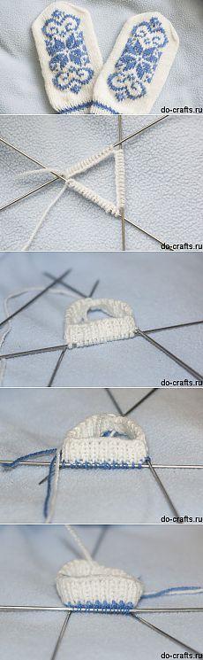 Как вязать варежки спицами, схемы для начинающих, узоры | Моё хобби
