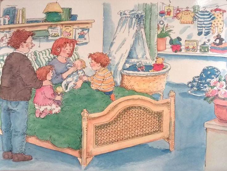 TOUCH this image: Praatplaat thema: Van baby tot kleuter. by R. van der Wal