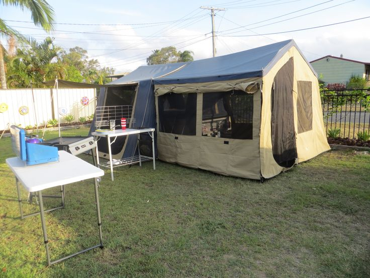 HIRE FROM CRESTED/QLD Camper Trailer Hire - 2012 OzTrail Camper Trailer (Crestmead)