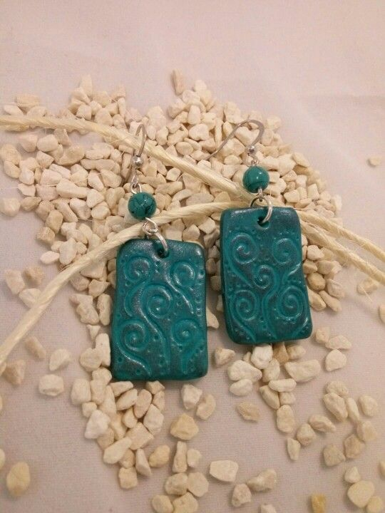 Polymer earrings