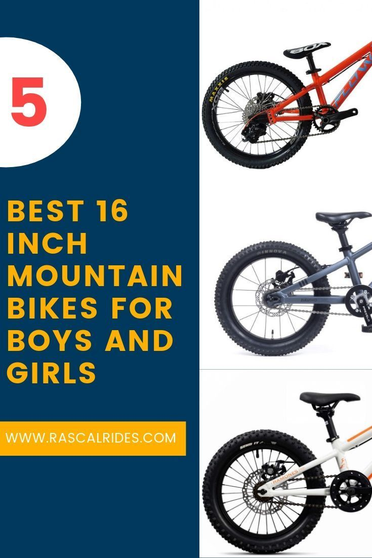 5 Best 16 Inch Mountain Bikes For Boys And Girls Mountain Biking