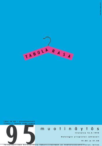 Tabula Rasa – new talents of fashion of catwalk, a co-operation of Pekka Piippo and Maija Vallinoja | Designed by: Pekka Piippo