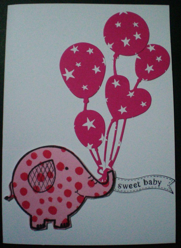 pink balloons handmade by Kay