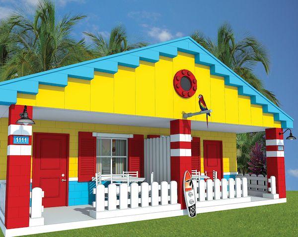 LEGOLAND® Florida Beach Retreat Family Cottage #Legoland #Lego